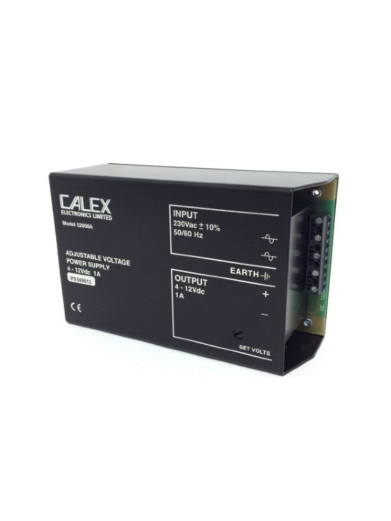 Блок питания Adjustable voltage Power Supply 52008A Calex 230V in 4-12VDC out
