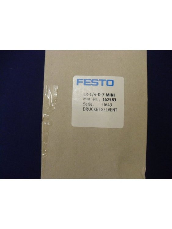 Pressure Regulator Festo LR-1/4-D-7-MINI