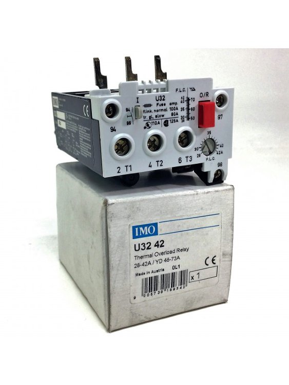 Реле перегрузки Thermal Overload Relay U32-42 IMO U3242 *NEW*